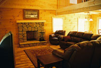 Hocking Hills Lodges Cabins in Hocking Hills - Family Room
