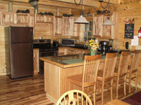 Wyrick's Hillside Lodges and Cabins in Hocking Hills - Kitchen