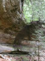 Cantwell Cliffs in Hocking Hills State Park - Ohio