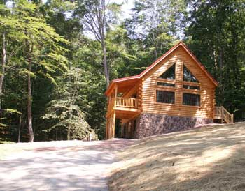 Hocking Hills Cabins-Lodge Pictures