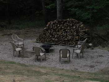 Hocking Hills Lodge Cabins Fire Pit