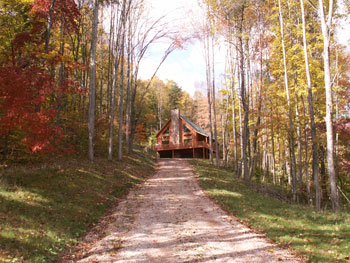 Hocking Hills Lodges -Sandstone Pictures