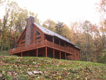 Sandstone Lodge in Hocking Hills Pictures