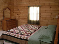 Sandstone Lodge and Cabins in Hocking Hills - Bedroom
