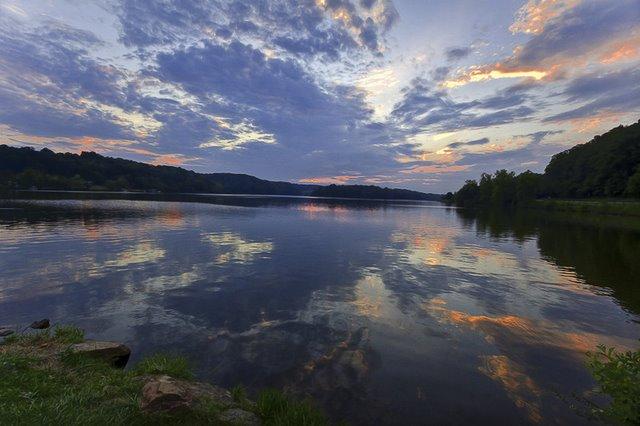 Lake Logan In Hocking Hills State Park Ohio